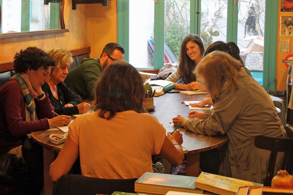 Taller en la librería La Torre de Papel. Curso 2014-2015.