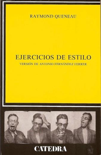 Ejercicios de Estilo de Raymond Queneau